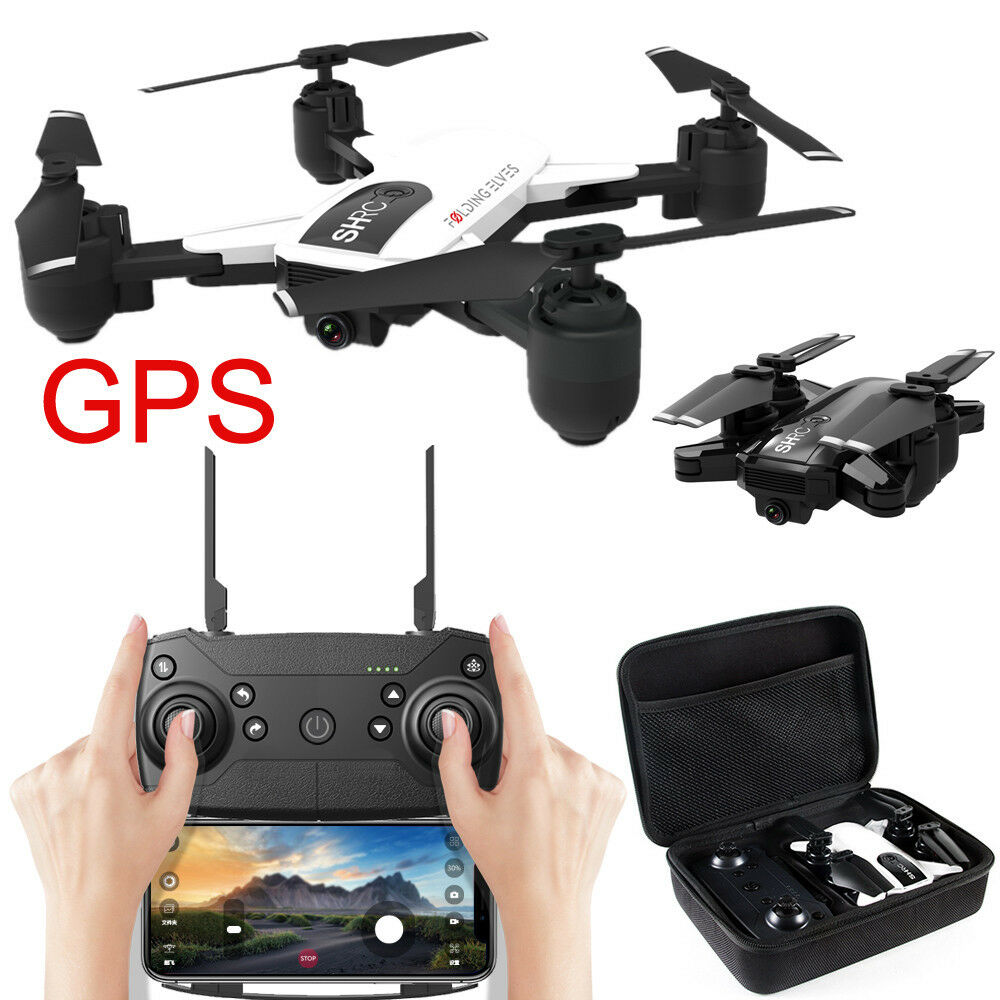 H1 WIFI 1080P FPV Altitude Hode Optical Flow Foldable Selfie Drone Quadcopter
