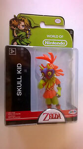 Jakks-Pacific-World-of-Nintendo-Legend-of-Zelda-Majora-039-s-Mask-Skull-Kid-Figure