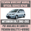 WORKSHOP-MANUAL-SERVICE-amp-REPAIR-GUIDE-for-MITSUBISHI-COLT-2002-2012-WIRING thumbnail 1
