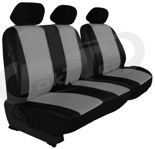 ici en gris. Sitzbezüge 1+2 pour FIAT TALENTO à partir de 2015 cuir synthétique
