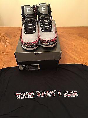 Nike Air Jordan 2 II retro Eminem 4 IV Encore The Way I Am 313 Marshall Mathers | eBay