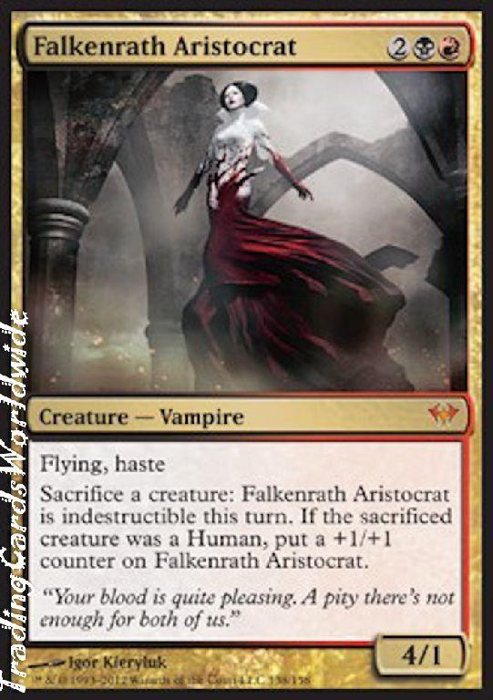 Falkenrath Aristocrat    Foil   NM    Dark Ascension    engl.    Magic Gathering