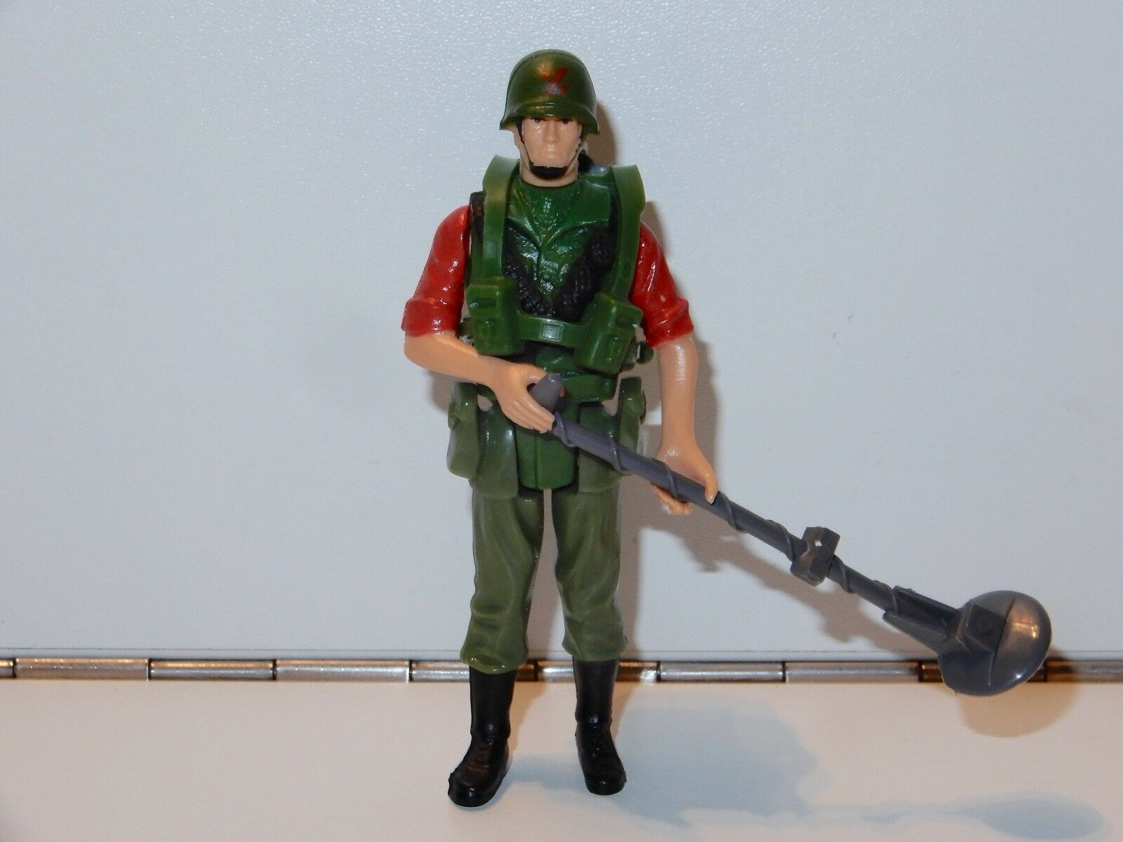 1983 GI JOE / ACTION FORCE Z FORCE MINESWEEPER 'LONG Stiefel' 100% COMPLETE C9+