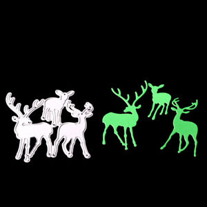 Christmas-Deer-Metal-Cut-Dies-For-DIY-Scrapbooking-DIY-Album-Paper-Cards-Deco-I4