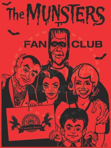 CUSTOM ITEM THE MUNSTERS FAN CLUB KIT VINTAGE REPRINT