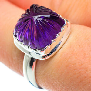 Amethyst-925-Sterling-Silver-Ring-Size-8-Ana-Co-Jewelry-R48347F