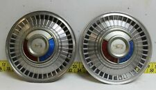 Rare Oem Ford Sunray Lion 14 Hub Caps 1959 61 Galaxie Fairlane Thunderbisr3207 Fits Fairlane