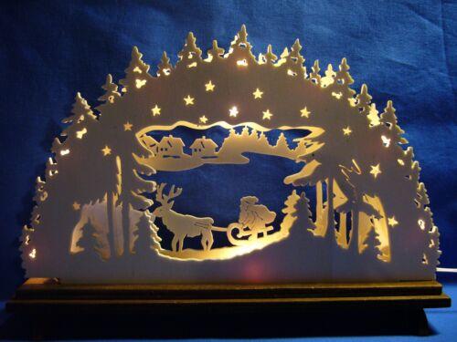 Erzgebirge zur Weihnachtszeit Laubsägevorlage Nr.120 f REGU Schwibbogen