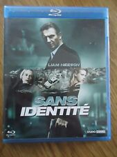 BLU-RAY * SANS IDENTITE *  LIAM NEESON no TAKEN JASON BOURNE THRILLER ACTION