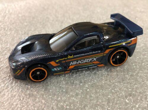 Hot Wheels 2018 Horsepower '05 Chevrolet Corvette C6R Blue Loose