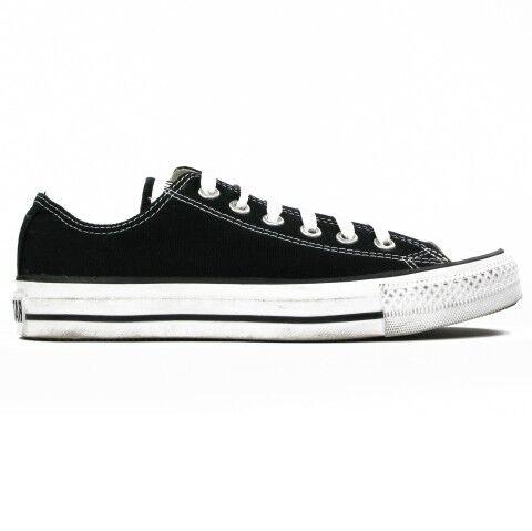 Converse Damen Sneakers All Star Ox Schwarz Schwarz Schwarz M9166C Größe 41,5 Schuhe Chucks dd4df5