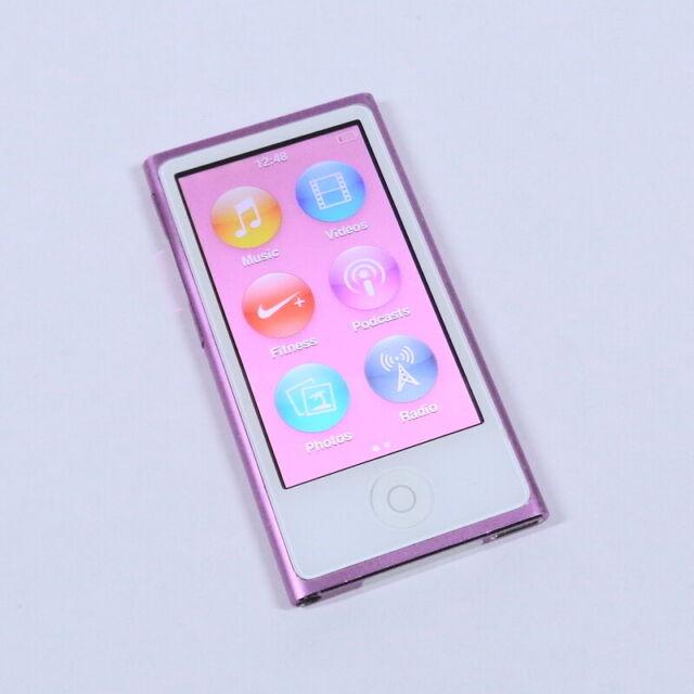 Apple iPod Nano 16GB 7th Gen Generation Purple MP3 WARRANTY
