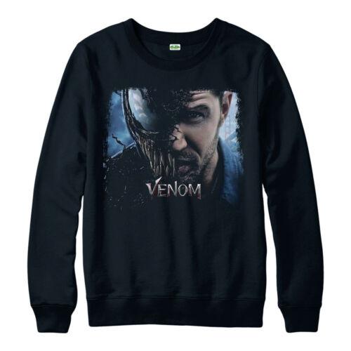 Venom Poster Jumper Villain Birthday Gift Tom Hardy Unisex Adult Kids Jumper Top