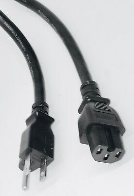 Power Cord Right Angle right Angle 8 feet 5-15P C15 8 feet Notched