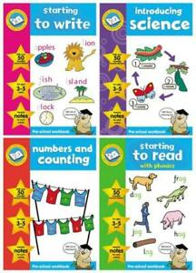 Childrens-Educational-Activity-Learning-Book-Kids-School-Read-Write-Maths-Learn