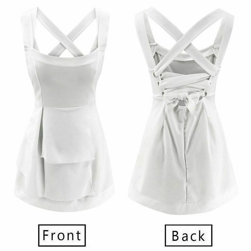 Xingopy Summer Dresses Women Sleeveless Floral Print Boho Short Mini Dress Casual Beach Sundress Party Tunic Dress