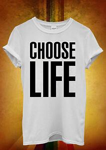 Choose-Life-Geek-Swag-Hipster-Men-Women-Unisex-T-Shirt-Tank-Top-Vest-335