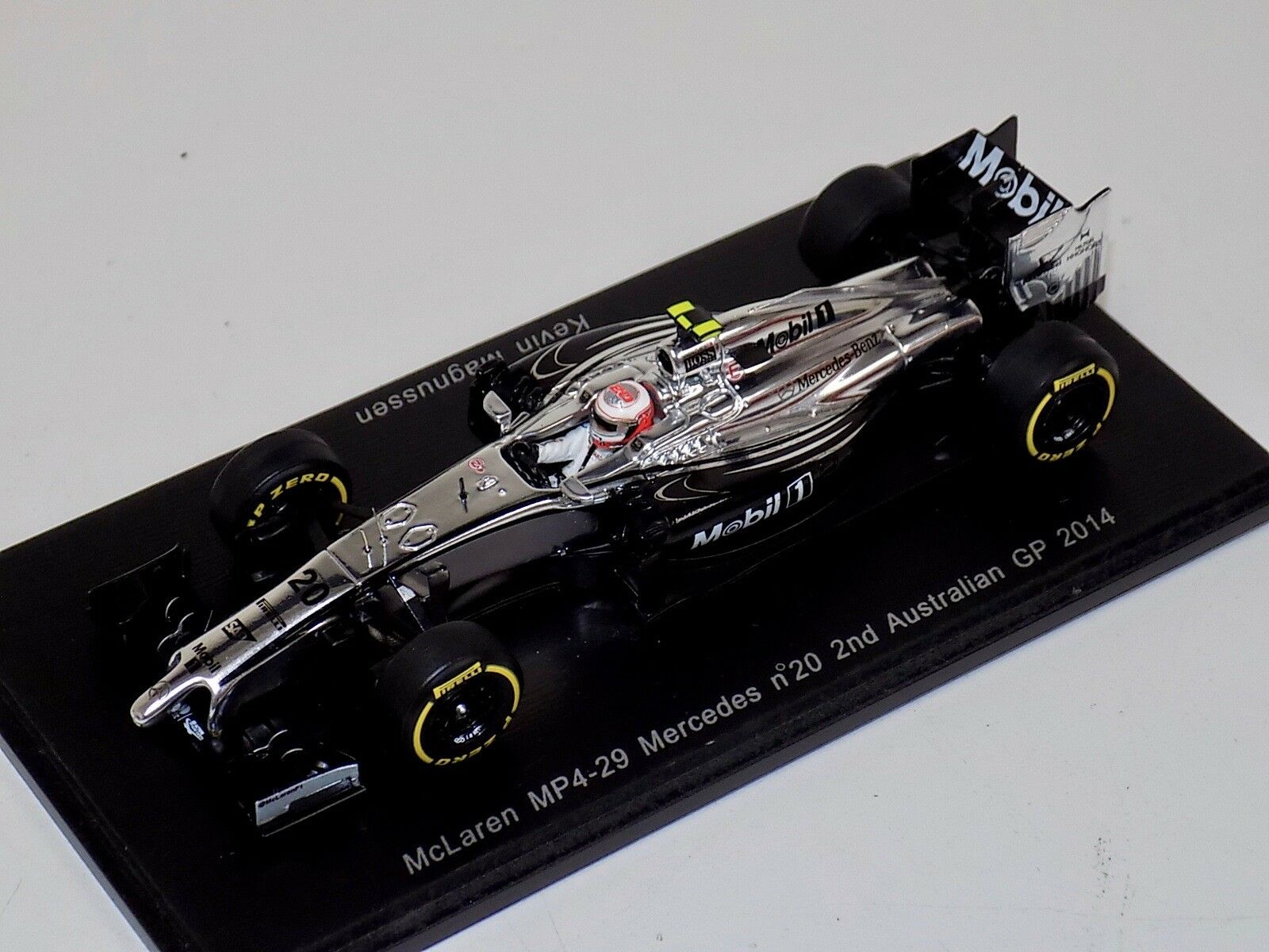 1/43 Spark McLaren MP4-19  car #20 2nd Australian GP 2014 K.Magnussen S3073