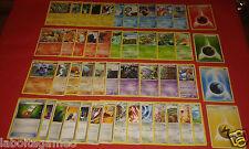 LOT 50 CARTES POKEMON DIFFERENTES  SANS DOUBLE NI EX  +3 cartes de 100 pv