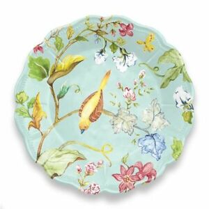 Image is loading Spring-Chinoiserie-Collection-12-Piece-Melamine-Dinnerware -Set-  sc 1 st  eBay & Spring Chinoiserie Collection 12 Piece Melamine Dinnerware Set by ...