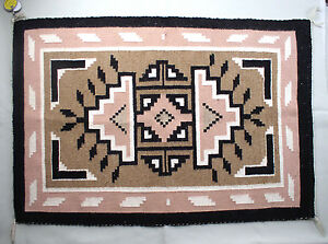 Image Is Loading Native American Navajo Rug Two Grey Hills 1979
