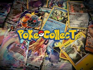 Pokemon-Card-Lot-10-Holo-Pack-w-1-GUARANTEED-V-VMAX-Full-Art-or-Rainbow-Rare