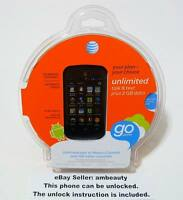 At&t Gophone Zte Avail 2 Z992 Andriod 4.1 3g Wi-fi 3.5 4gb(can Be Unlocked)