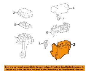 image is loading toyota-oem-fuse-box-fuse-amp-relay-box-