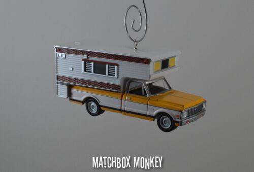 Custom /'72 Chevy C20 Cheyenne Camper Vintage Style RV Chevrolet Truck Ornament