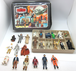 Kenner Empire Strikes Back Action Figure Case 24 Figures Accessories 1 Tray 1981