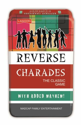 Classic Game With Added Mayhem In A Tin Reverse Charades Lagoon Group