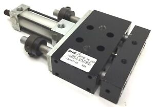 PHD-TS031X1-A-J1-Q-R1-Pneumatic-Slide-Cylinder-1-034-Stroke-Bore-3-4-034