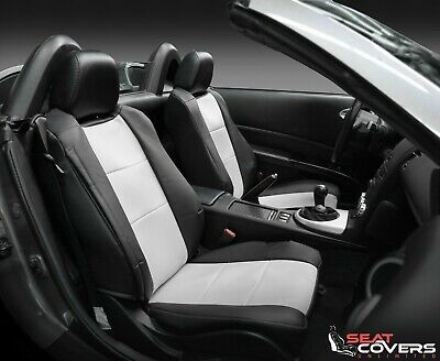 Coverking MODA Synthetic Leather Front Seat Covers for 2014-2019 Toyota Tundra