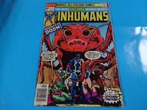 inhumans-7-issue-marvel-Comic-book-1st-print