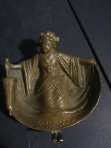 ANTIQUE-BRASS-ASIAN-GIESHA-GIRL-LADY-w-PARASOL-RISQUE-BARE-BOTTOM-TRINKET-DISH