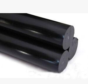 1 pcs Nylon Polyamide PA Plastic Round Rod Stick Stock Black 12mm x 250mm #B-D