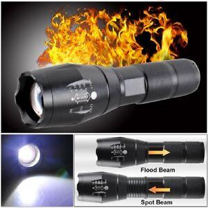 Torcia-LAMPADA-LUCE-5000lms-Zoom-in-grado-di-CREE-t6-LED-torcia-elettrica-messa-a-fuoco