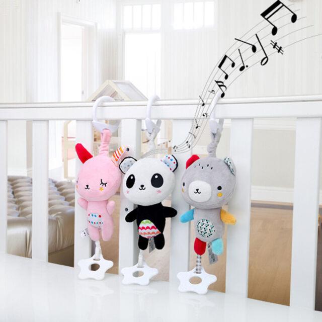 Baby Girls Boys Toy Newborn Rattles Stroller Crib Pram Bed Hanging Plush Gift
