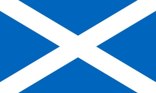 SCOTLAND FLAG - SALTAIRE St Andrews Cross alba 5 x 3ft banner o saint NEW 90x150