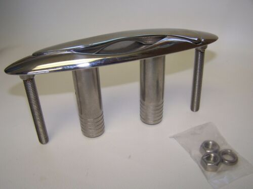 """041508 Sea-Dog Line Stainless S-Style Pull-Up Cleat Stud Mount 8-5//8/"""" 132-1385"""