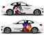 DATE A LIVE Kurumi Cute Girl Anime Car Body Door Decal Vinyl Sticker Fit Any Car