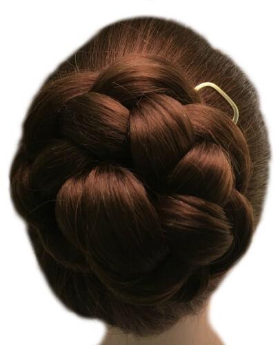 Fork Slide Comb Stick Flat End Hair Pin Gift Metal Bun Holder for MEDIUM Hair