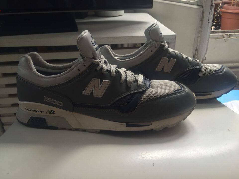 New Balance 1500 Grey bluee Limited Edition Size 10.5
