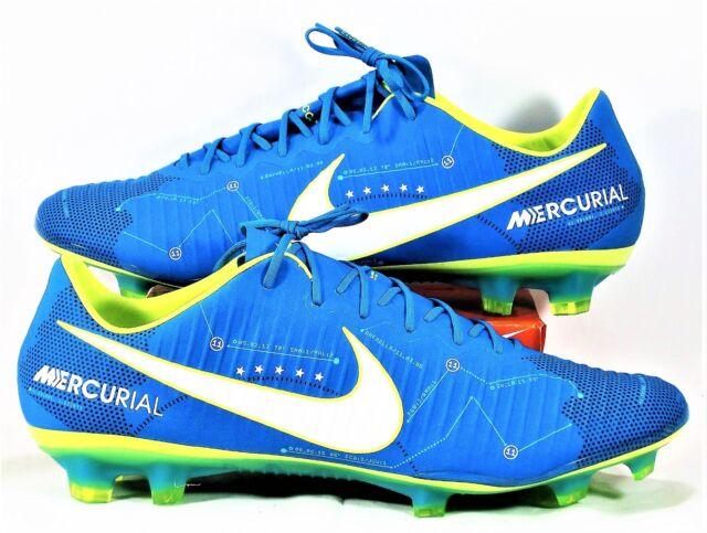 finest selection 2fa6b a0c83 Nike Mercurial Vapor XI Neymar FG Blue Orbit White 921547-400 Size 13