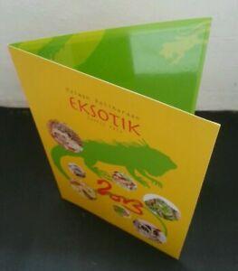 SJ-Exotic-Pets-Malaysia-2013-Animal-Hedgehog-Glider-Iguana-Folder-Limited