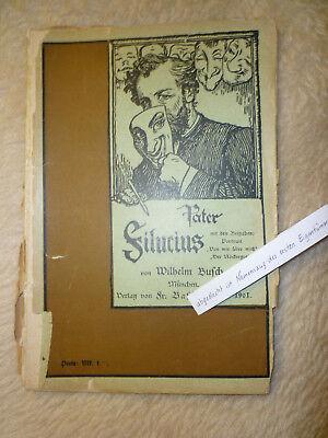 Allgemeine Kurzgeschichten Klug Wilhem Busch 'pater Filucius' Mit Beigaben'von Mir..''nöckergr' Taschenbuch 1901 Die Neueste Mode