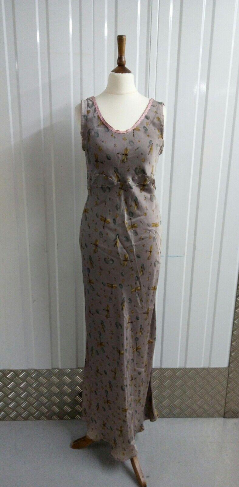 Vintage  Invest in the Original Voyage  Silk Dress