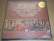 Gustav Leonhardt BACH Brandenburg Concertos - Pro Arte 2PAX 2001 SEALED