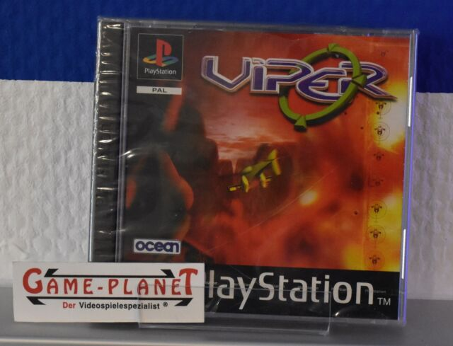 Viper OVP Sony Playstation 1 P1 PSX Pone in Folie neu NEW BOX RAR