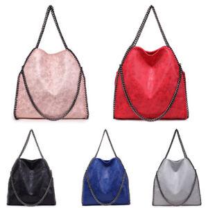 Fashion-Women-Falabella-Handbag-Chain-Hobo-Tassel-Tote-Shoulder-Bag